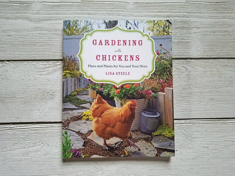 GARDENING with CHICKENS Signed by the Author Backyard image 0