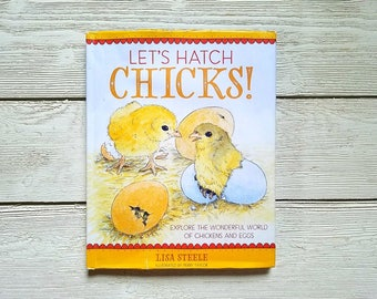 Let's Hatch Chicks! Illustrated Kids Chicken Keeping Book - Signed by the Author