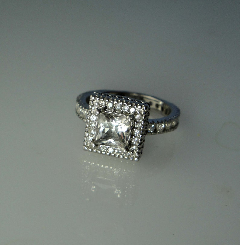 Herkimer Diamond Conflict Free Gemstone Fair Trade Engagement Ring Natural Diamond Alternative Natural Gemstone Sterling Silver
