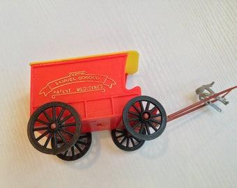 Plastic DR Smauel Dogood Patent Medicines Wagon