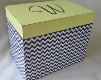 Greeting card storage box with dividers a2 card box desk etsy large 5x7 recipe box personalized greeting card storage box 5x7 wooden recipe box shower gift m4hsunfo