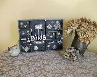 Paris Bling Reflections Memory Tray