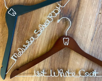 Dental Hygienist Gift, Gift for Dental Student, Dental Assistant Hanger, Dentist Graduation Gift, RDH Gift, Dental School Grad Gift