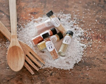 5pc Gourmet Sea Salt Sampler