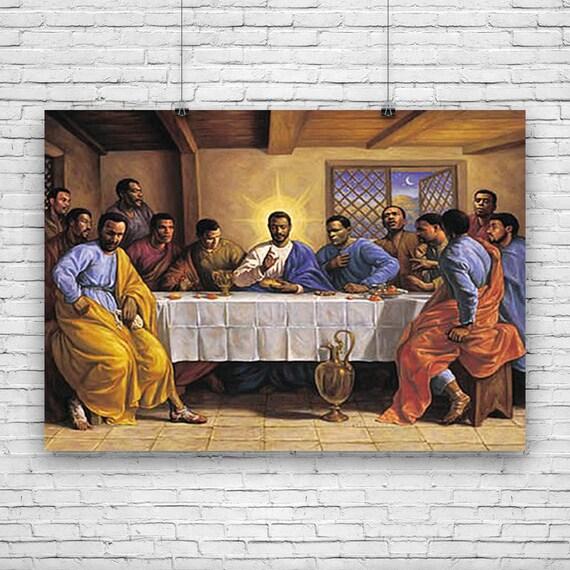 Last Supper Jesus Christ Messiah Savior Disciples Etsy