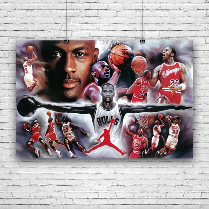 3a128a8161ac Michael Jordan Chicago Bulls 23 1984-1998 NBA Legend