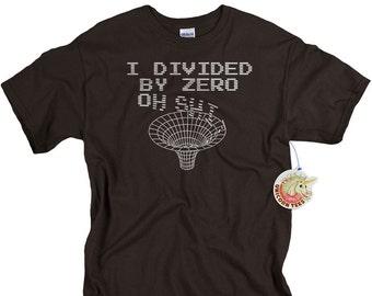 Funny Geekery T-shirt Science T shirt funny geek tshirt birthday gift for men black hole science tshirt for men