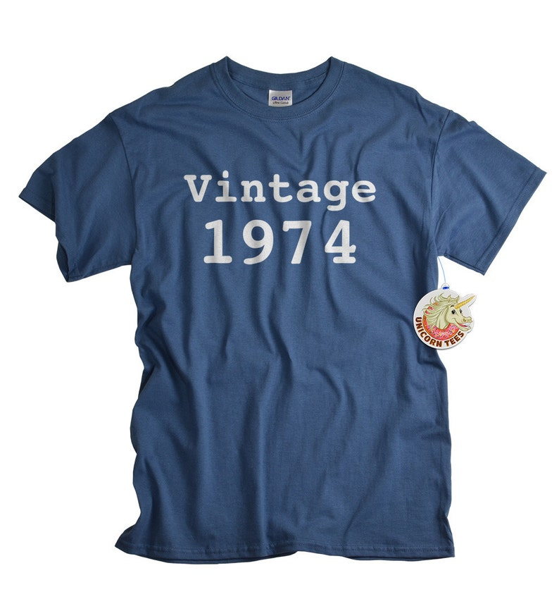 40th Birthday Gift 40 Shirt For Man Or Woman 1974