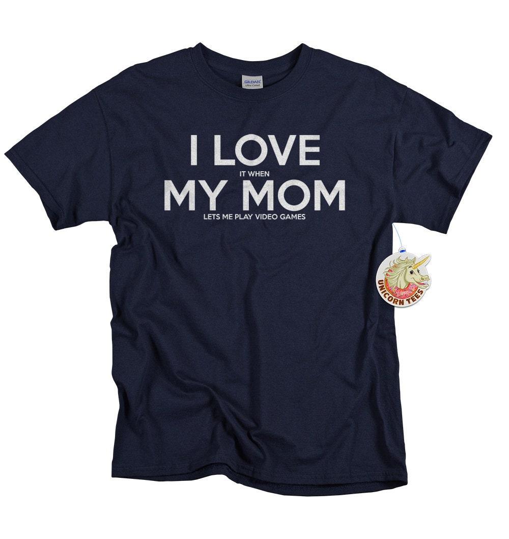 T-Shirts für jungen Gamer Geschenke Liebe ich es wenn | Etsy
