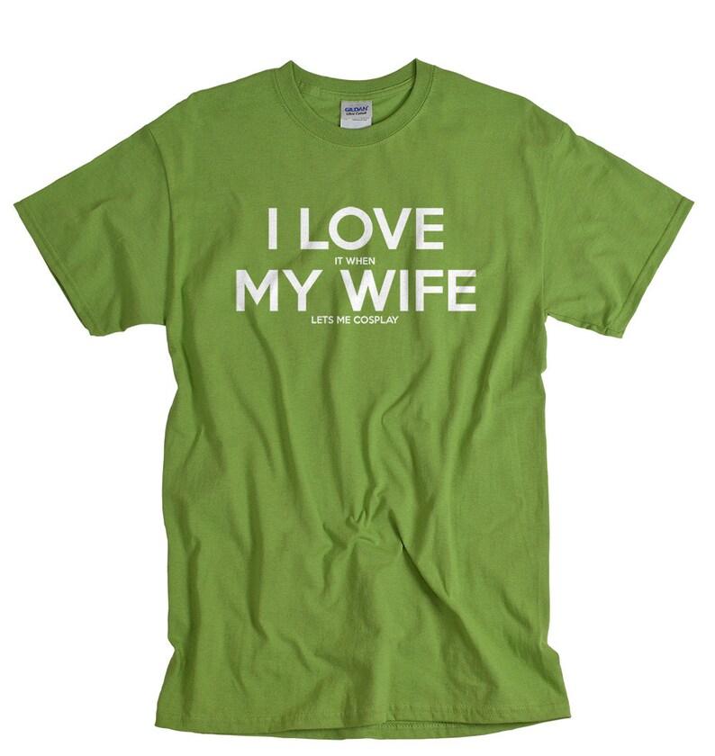 ae0c649bb Cosplay men t shirt funny tshirt for husband wife cosplay I | Etsy