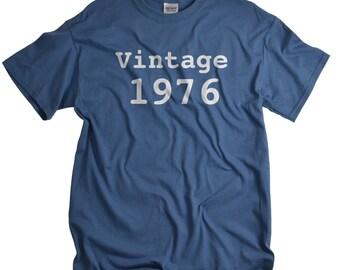 40th birthday gift for dad 40th birthday shirt funny gift for dad funny t-shirt 40 birthday 1976 shirt birthday gift tshirt tee men vtg1974