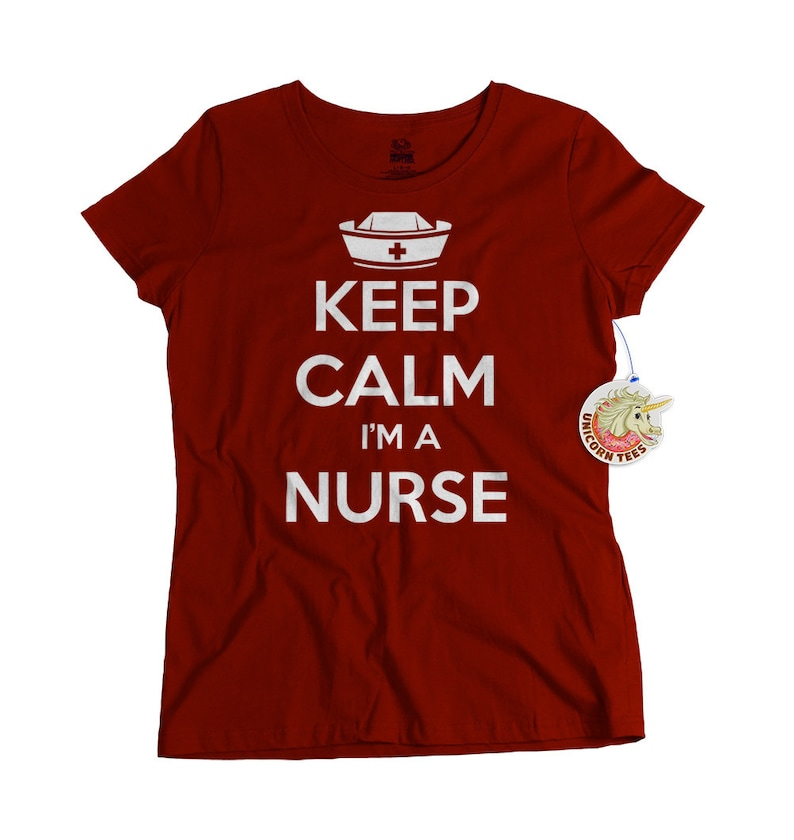 Keep Calm Im A Nurse Tshirt Gifts For Nurses