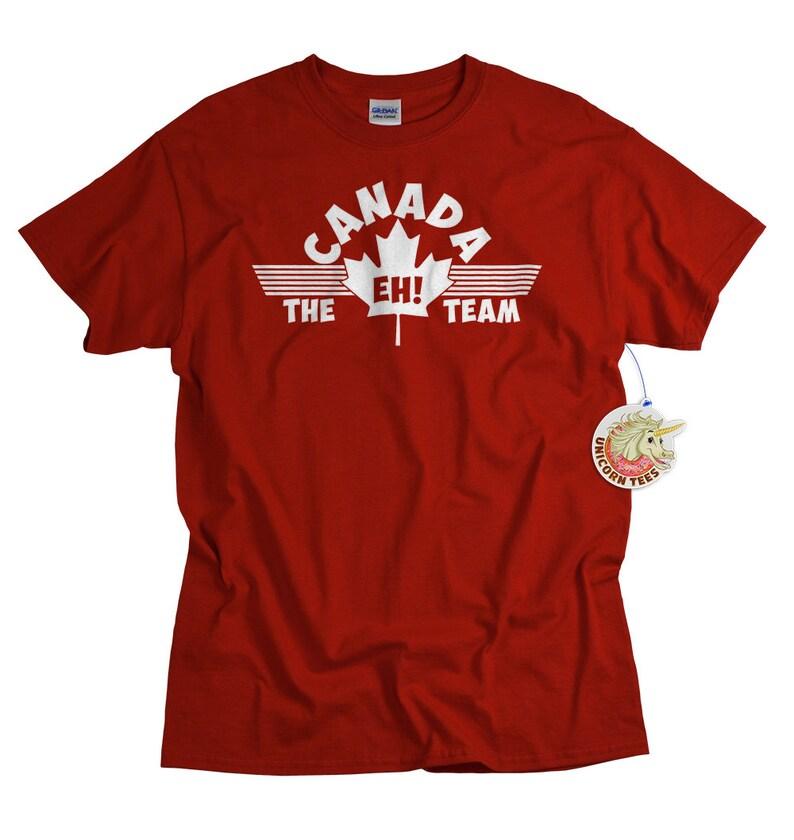 f1c24f30618db1 The Eh Team T shirt Funny Canadian Tee Shirt Canada Maple Leaf