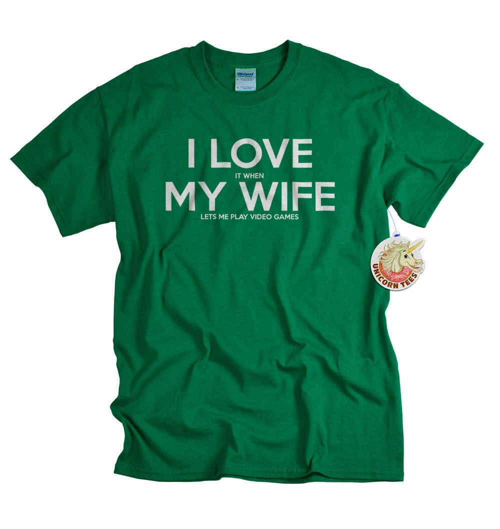 Christmas Gift for Men - Video Game Tshirt for Husband - Gamer Gifts for Him - Mens Tshirts