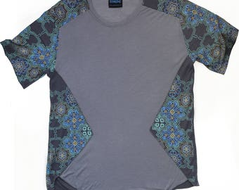 Mens Huichol Peyote Ultra Soft Fine Modal T-shirt size XL