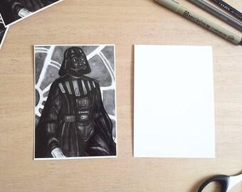 Darth Vader Postcard