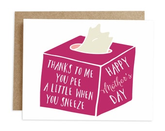 Funny Mothers Day Card Happy For Mom Cards Sarcastic Greeting