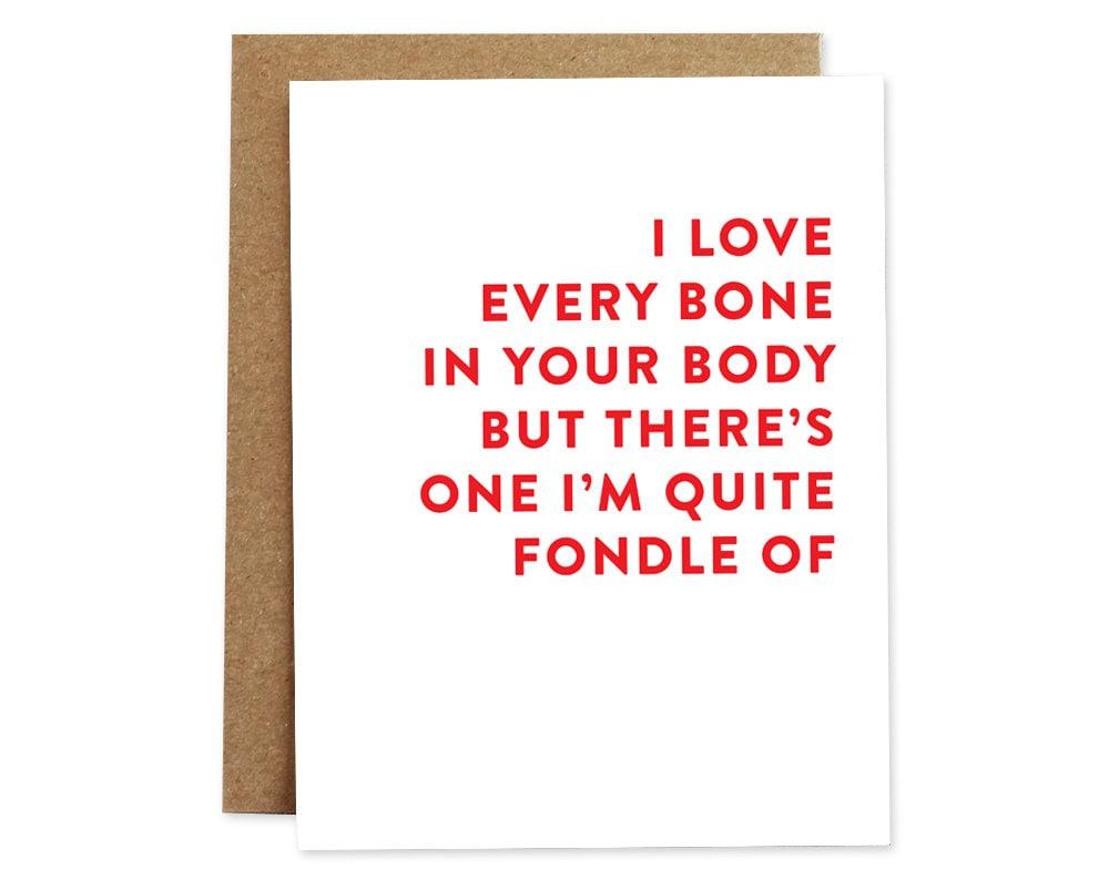 Sexy romance card