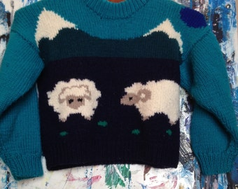 Vintage Wool Children's Sweater