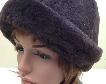Shearling hat  25bbb7a1a00f