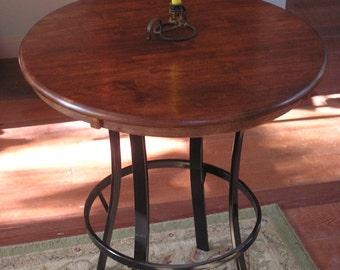 Rustic Industrial Custom Pub Table