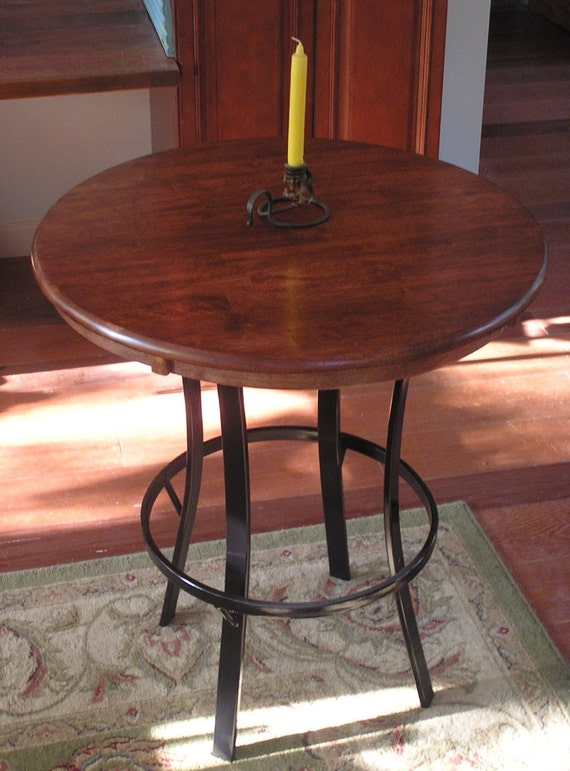 Exceptionnel Rustic Industrial Custom Pub Table | Etsy