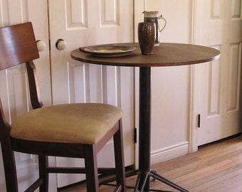Rustic Industrial Custom Rebar Pub Table Kitchen Island Kitchen Table