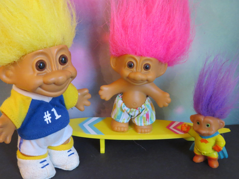 Vintage 90s Trolls/ 90s Pop Culture / Russ Surfer Troll /