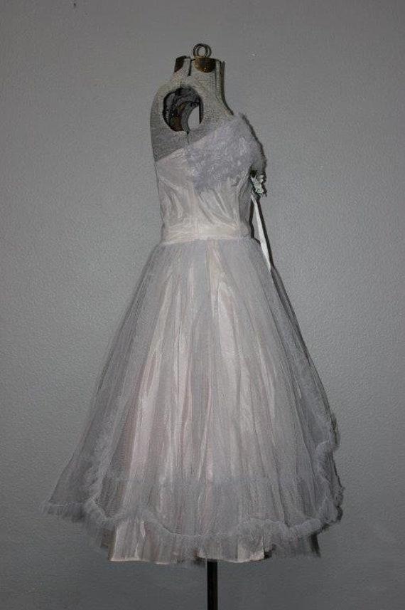 Fabulous 1950's Tulle Prom Dress - image 2