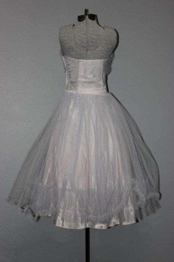 Fabulous 1950's Tulle Prom Dress - image 3