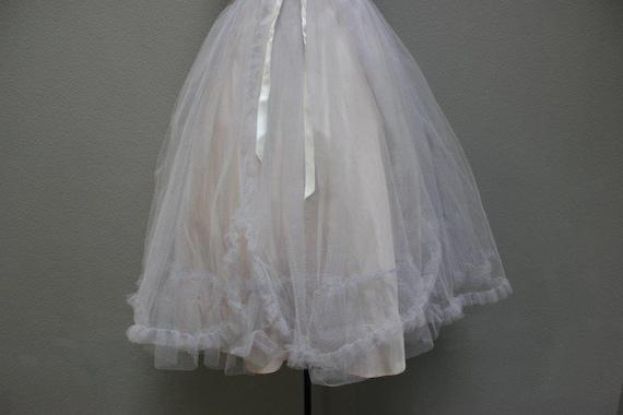 Fabulous 1950's Tulle Prom Dress - image 5