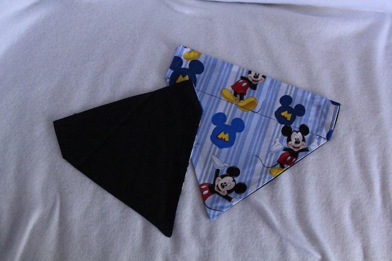Reversible Mickey Mouse Pet Bandana