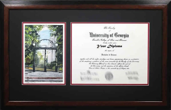 University of Georgia Diploma Frame | Etsy
