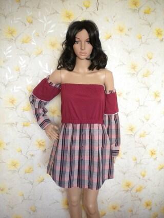 L-XL artsy eco tunic dress, hippie bohemian tube top, rustic cowlgirl dress, off shoulder shirt dress, t-shirt sundress, upcycled clothing