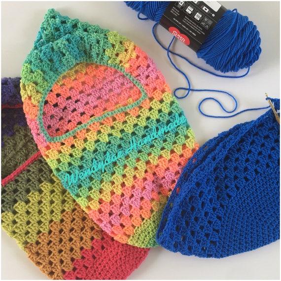 Crochet Pattern Granny Stitch Newborn 3 6 Month Swaddle Etsy
