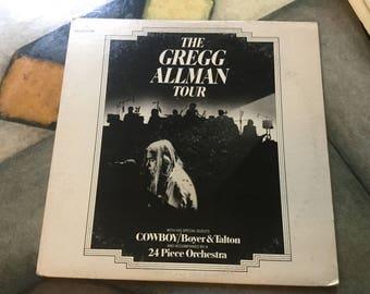 The Gregg Allman Tour 1974 capricorn records