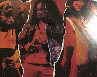 Black Uhuru Tear It Up Live on Mango Records original band vintage vinyl with Puma Ducky Mykal 1982