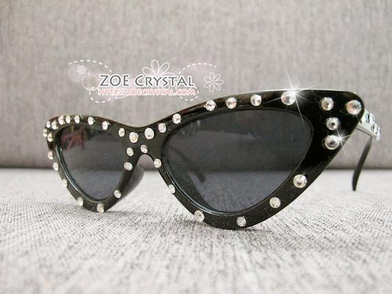 c093f82766fdd HOLLYWOOD Fashionable Cat Eye Sunglasses Shades Sunnies