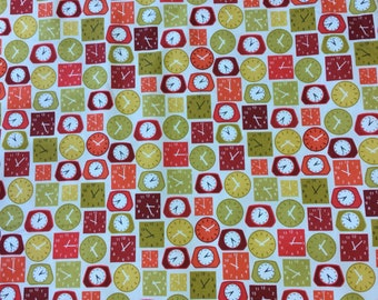 Fat Quarter Lila/'s Kitchen Utensils on Grey 100/% Cotton Quilting Fabric Makower
