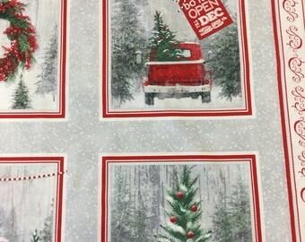 Holiday traditions Christmas Panel