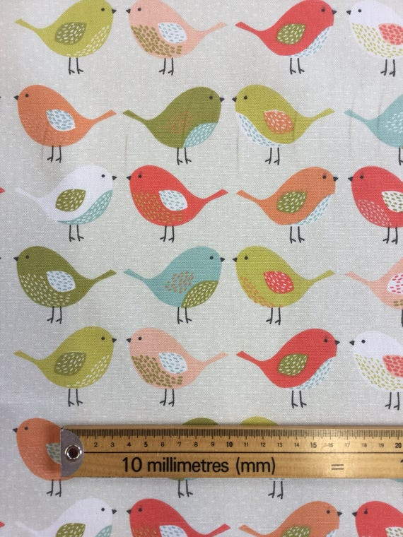 Andover Fabrics Uptown Rainbow 8664 Grey Cotton Fabric By The Half Metre