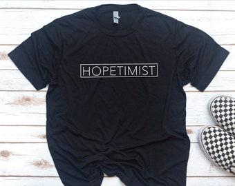 Christian Men, HOPETIMIST, Gift for Christian, Men's Shirt, Gift for Dad, Gift for men, Christian Shirt, Jesus, Easter, Christmas Gift