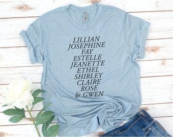 Phi Sigma Sigma Shirt, Founders, Recruitment, Alumnae, Sorority, Phi Sig, Sorority shirt, big little shirts