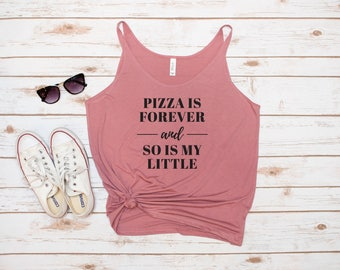 Little Sis Tank, Pizza, Big and Little, Reveal, Lil Sis, Little Sis, Pizza is Forever