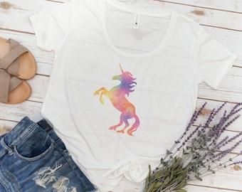 Unicorn Shirt, Unicorn, Rainbow Unicorn