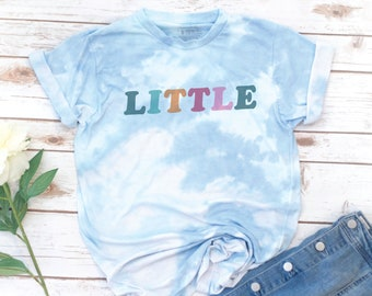 Big Little Shirt, Big Little Reveal, Tie Dye, Sorority Shirt, Big Little Reveal, Retro, Vintage, GBig, Twin, GGBig, GGGBig, Sorority Gift