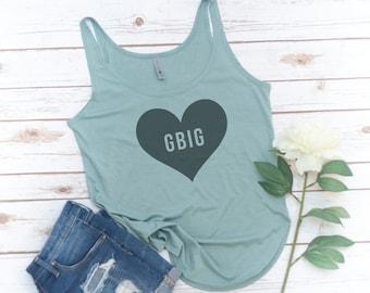 Little Sis tank, Big Sis tank, Big Little Sorority, Reveal shirts, GLittle, GBig, Fashion