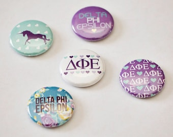 Sorority Buttons