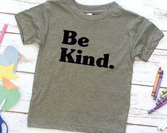 Kids Shirt, Be Kind, Boys shirt, Girls shirt, Youth, Toddler Shirt, Kids birthday gift, Jesus Shirt, Bible verse