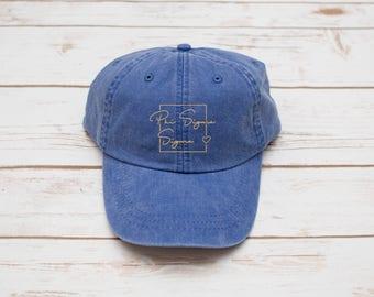 Sorority Gift, Phi Sigma Sigma Sorority Hat, Sorority Gift, Sorority Hat, Dad Hat, Sorority Baseball Hat, Baseball Hat